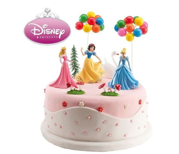Licensed Complete Disney Princess Cake Decoration Kit