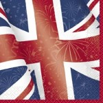 Best of British Union Jack Napkins