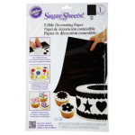 Wilton Black Sugar Sheets