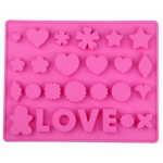 CA Love Silisone Mold