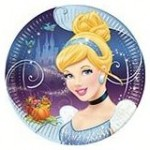 Cinderella Paper Plates - Pack of 8