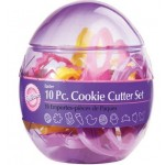 Wilton 10 piece Easter Cookie Cutter Set