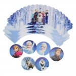 CA Disney's Frozen 6 x Cupcake Wrappers & Toppers