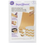 Wilton Gold Sugar Sheets