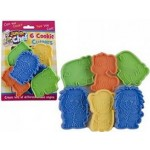 Junior Chef 6 Kids Animal Cookie Cutters