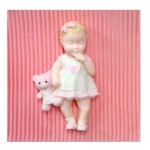 Baby Girl Katy Sue Designs Silicone Mold