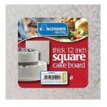 "Kingfisher Catering 12"" Square Thick Cake Board"