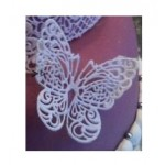 CA Fondant Lace Butterfly,Heart,Flowers, Bows Silicone
