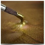 Rainbow Dust Light Gold Metallic Food Paint