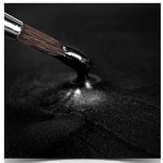 Rainbow Dust Black Metallic Food Paint