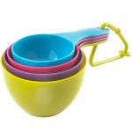Multi coloured Measuring Cup Set