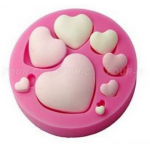 CA Multiple Heart Mold