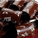 Musical Notes Chocolate Transfer Sheets