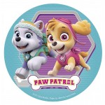 Official Paw Patrol Skye & Everest Edible Disc