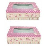 Queen of Cakes Cupcake Printed Cupcake Boxes