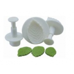 3 pc Rose leaf Plunger