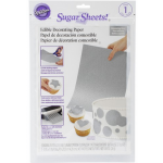 Wilton Silver Sugar Sheets