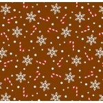 Christmas Snowflake & Candy Cane Chocolate Transfer Sheets