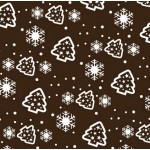 Christmas Tree & Snowflake Chocolate Transfer Sheets