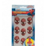 Quality Spiderman Edible Sugar Icing Decorations