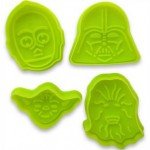 Set of 4 Star Wars Plunger Cutters & Embossers.