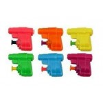 6 x Mini Water Pistols - Party Loot Bag Toys/Fillers