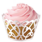 Wilton White Cupcake Wraps