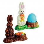 Wilton 3D Bunny Basket Chocolate Mold