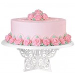 Wilton Fancy Scrolls Birthday Cake Stand