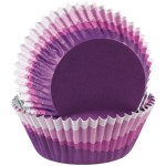 Wilton Foil Lined Purple Baking Cases