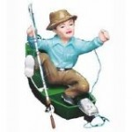 Wilton Frustrated Fisherman Cake Topper