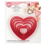 Wilton Hearts Set of 6 Nesting Cutter Set