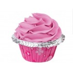 Wilton Pink Double Ruffle Cupcake Cases