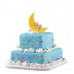 Wilton Star Power Impression Mat Cake
