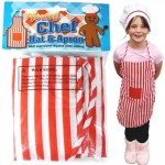Young Chef Hat & Apron Set